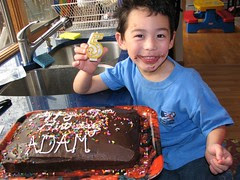 Adam and frosting
