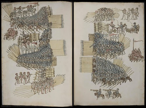Kriegsbuch by Philipp Mönch, 1496 duo