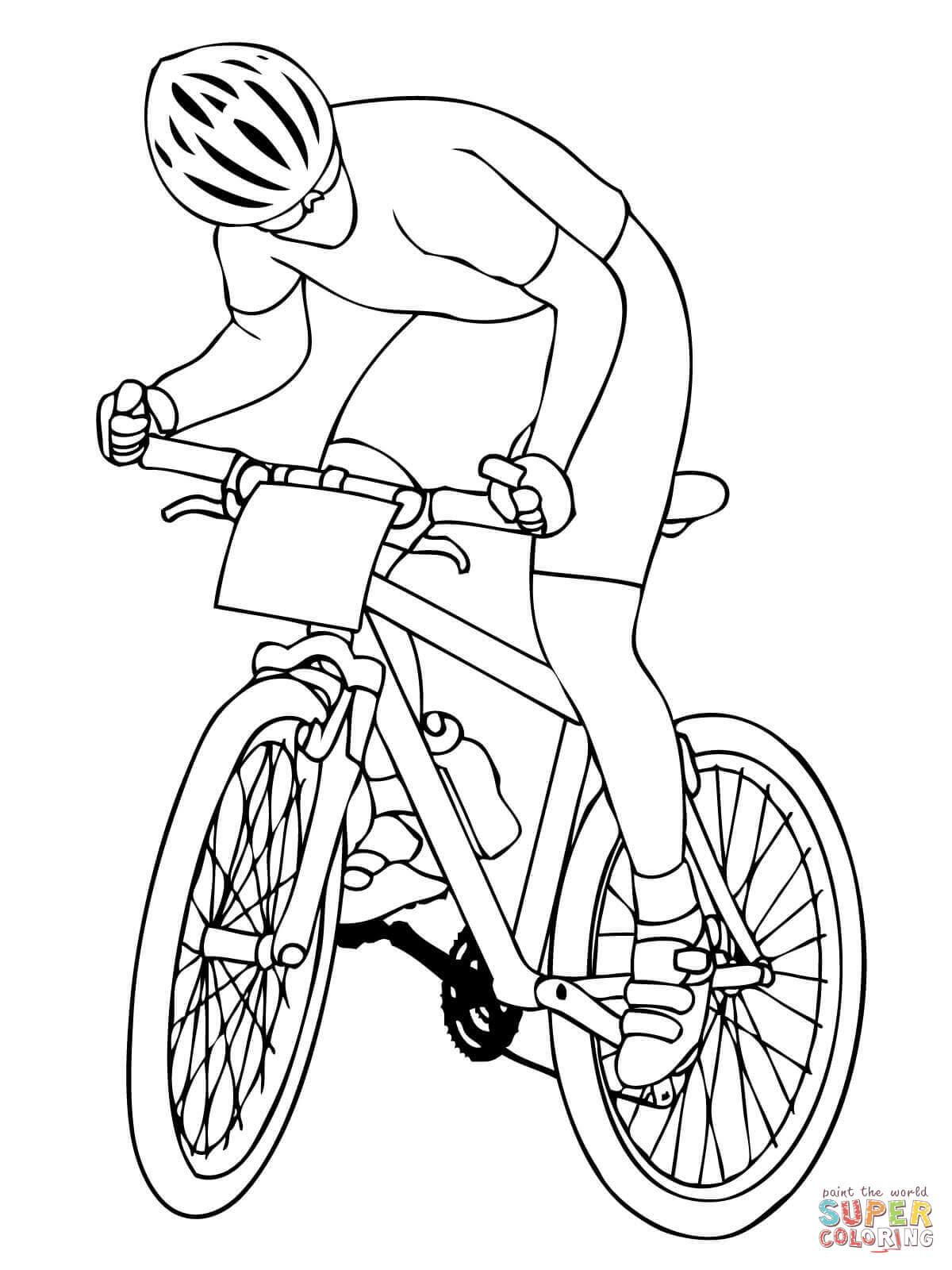 Inspirierend Ausmalbild Fahrrad Kostenlos Top Kostenlos Farbung