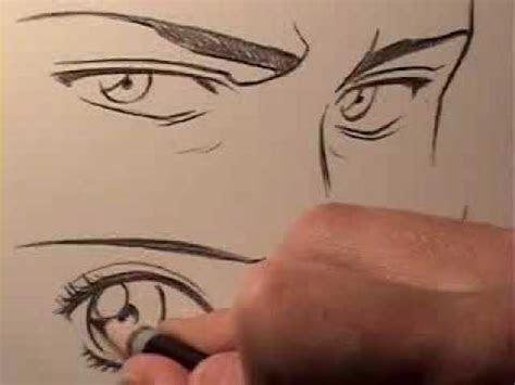 mark crilley   draw manga eyes male eyes  female