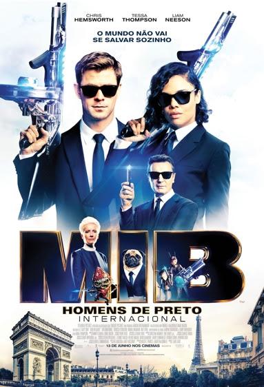 MIB: Homens de Preto – Internacional : Poster