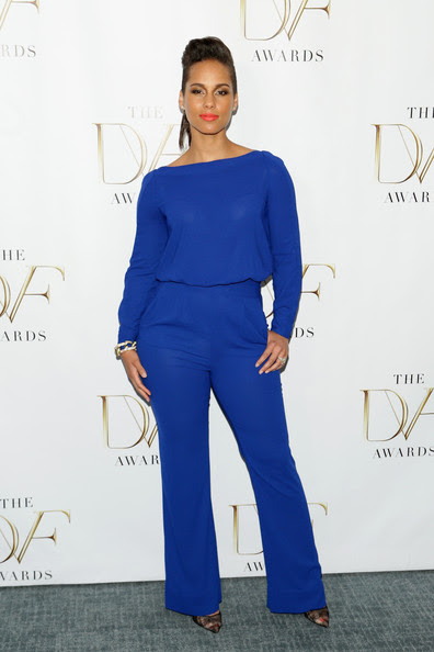 Alicia Keys - 2014 DVF Awards