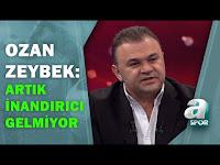 """Ozan Zeybek:""""Sözleşme Konusunda Sorun Yok Deselerde Artık İnandırıcı Gelmiyor"""" / A Spor - A Spor"""