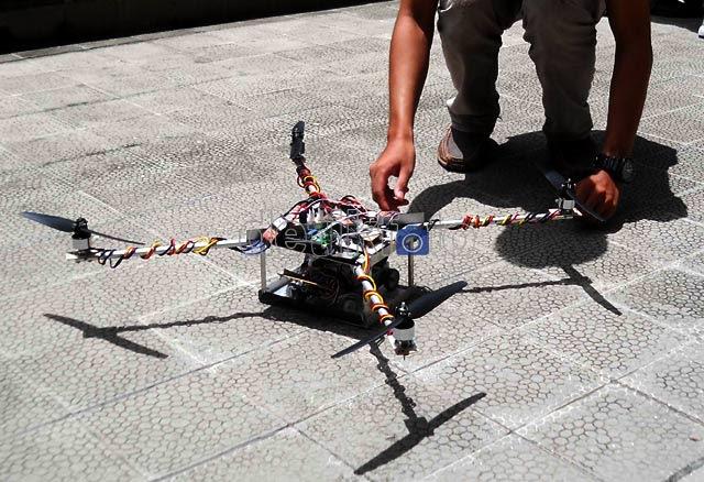 Robot UGM Raih Penghargaan Internasional