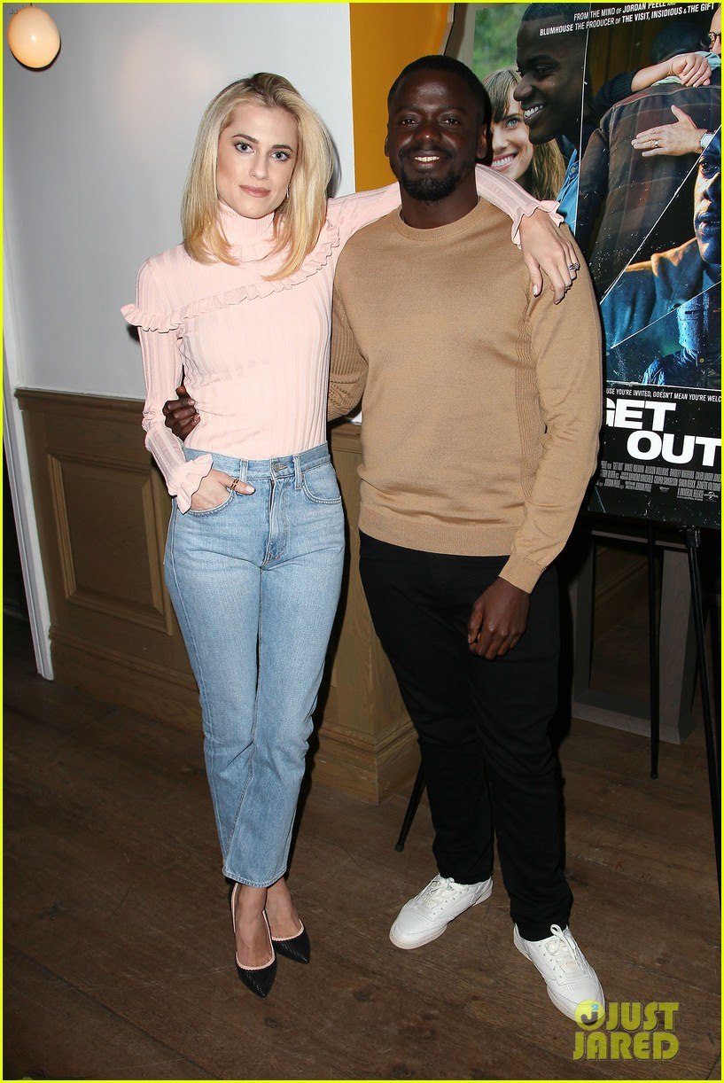 Allison Williams Is Happy That She S No Longer Introduced To People As Brian Williams Daughter Photo 3863130 Allison Williams Daniel Kaluuya Jordan Peele Pictures Just Jared