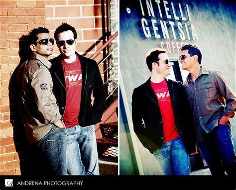 Gay Engagement Session ? Vik & David   Andrena Photography