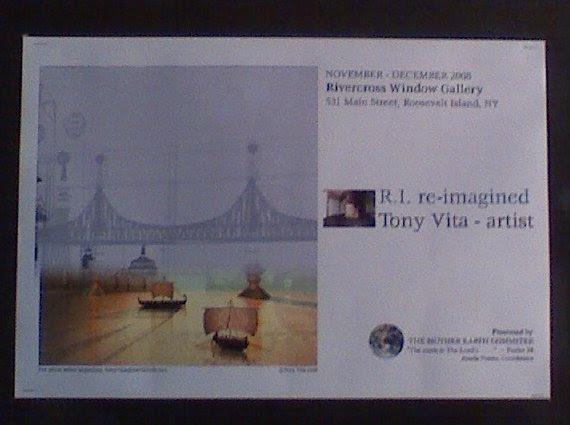 Tony Vita - Window Gallery Card