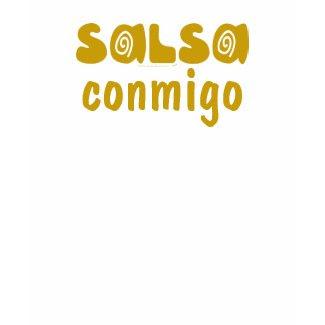 Salsa Conmigo Salsa Dancing Latina Tank Top