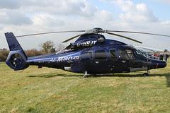 G-HBJT - 2008 build Eurocopter EC155-B1, at the 2011 Cheltenham Festival