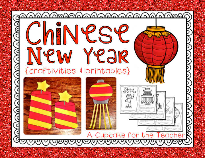 Classroom Ideas For New Years ~ Chinese new year craftivities printables a cupcake