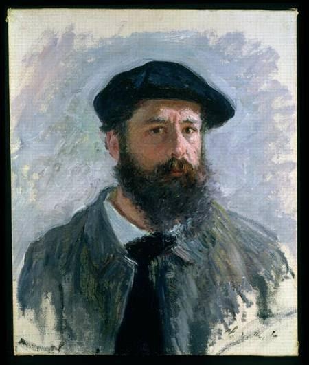 Claude Monet - Self Portrait with a Beret