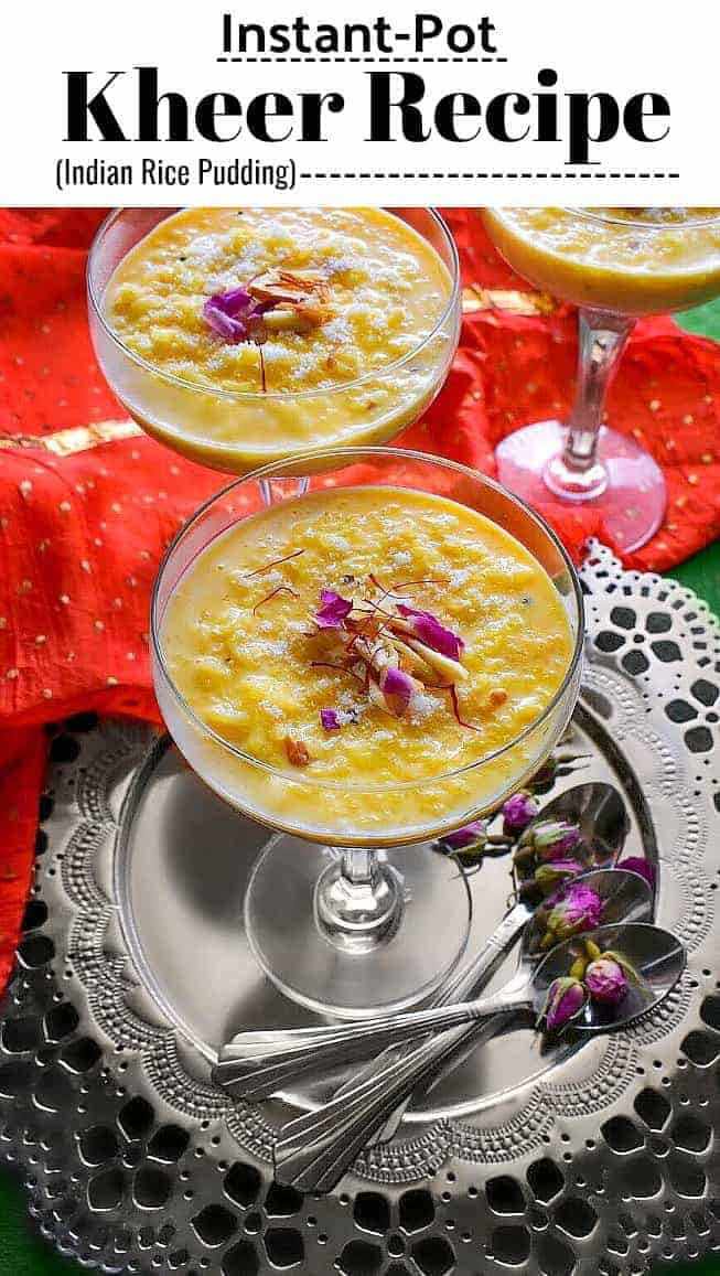 Instant Pot Kheer Recipe (Indian Rice Pudding) # ...