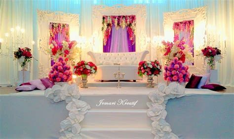 Wedding stage. Like the colors, maybe a darker one   Desi