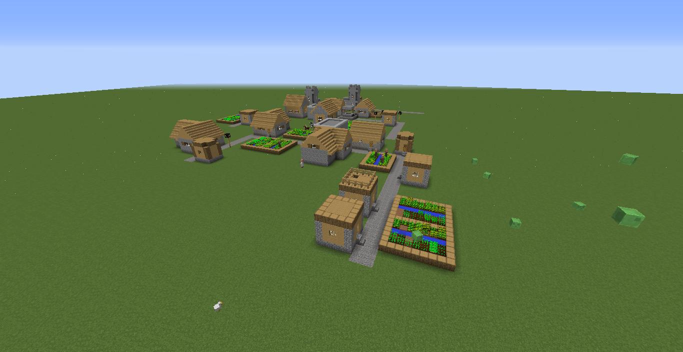 Minecraft Java Edition Village Seed 114 Harbolnas J