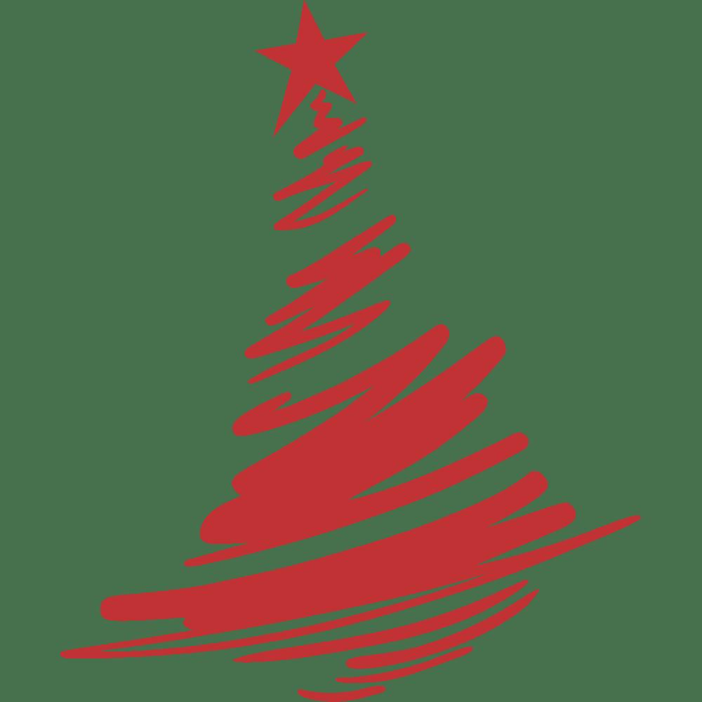 Muur sticker: aanpassing van Kerstmis - Graffiti tree