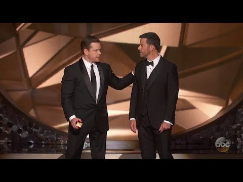 Matt Damon Confronts Jimmy Kimmel After Emmys Loss | Viralrook