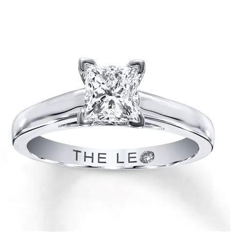 Kay Jewelers 1 Carat Leo Princess Cut Diamond Engagement