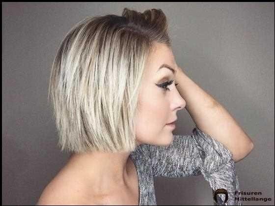 Frisuren 2021 Feines Haar Mittellang