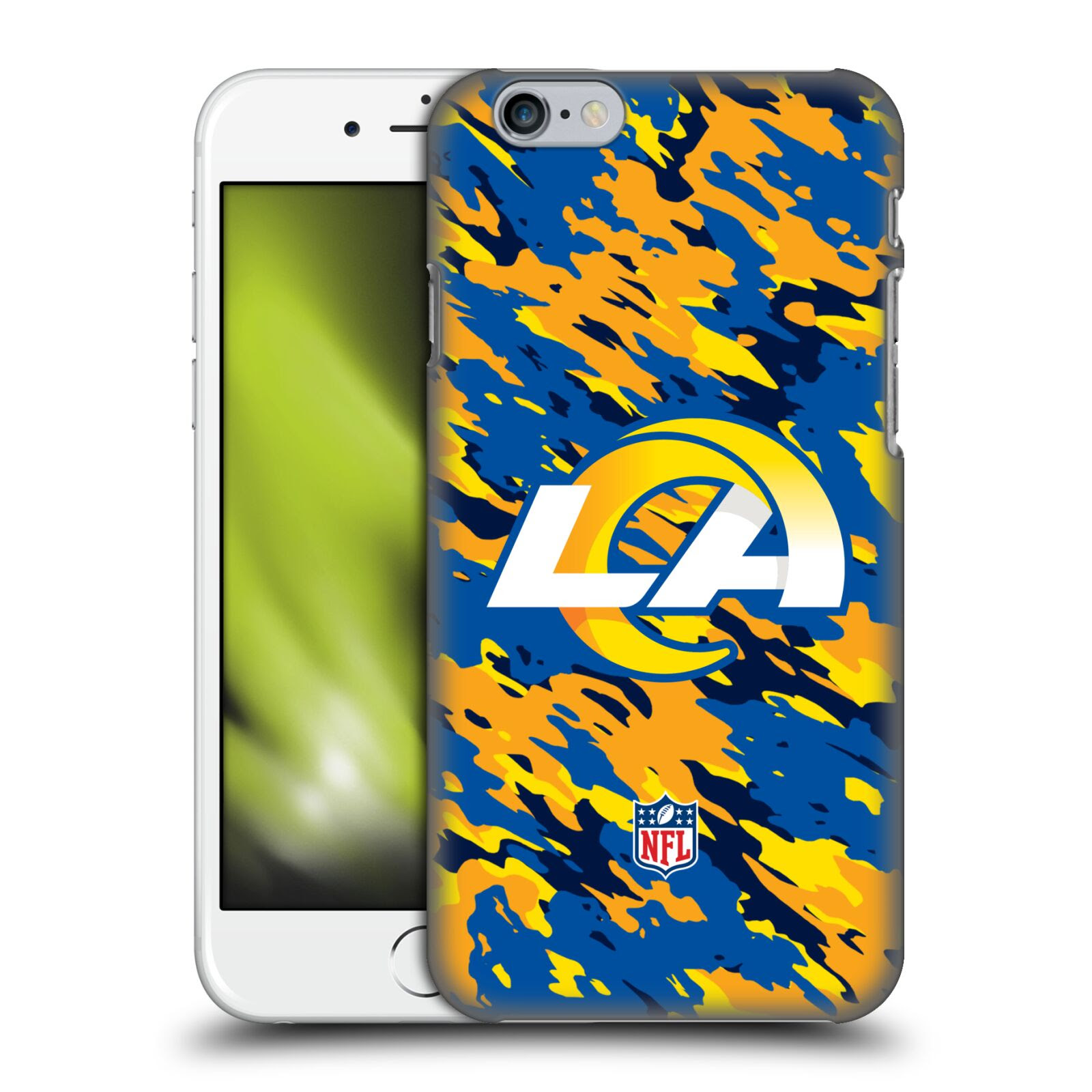 OFFICIAL NFL LOS ANGELES RAMS LOGO HARD BACK CASE FOR APPLE iPHONE PHONES eBay