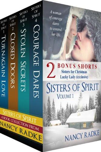 Sisters of Spirit #1-4, Boxed Set with 2 bonus short stories (Sisters of Spirit 1-4) by Nancy Radke