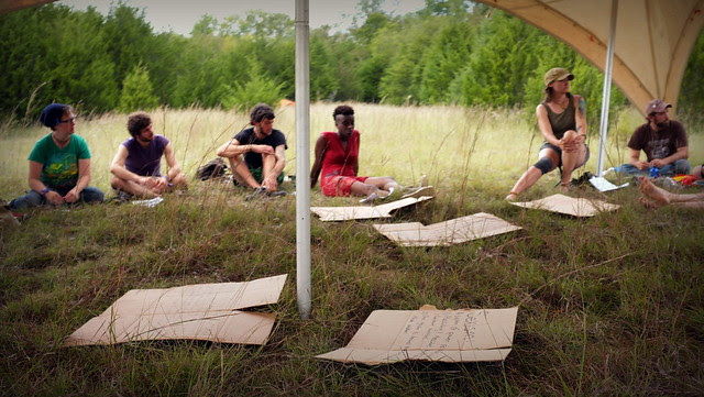tar sands action training camp