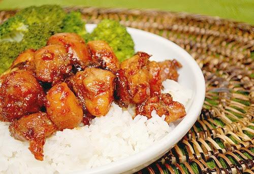 Vietnamese Style Caramel Chicken