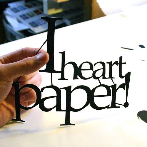 custom paper cuts