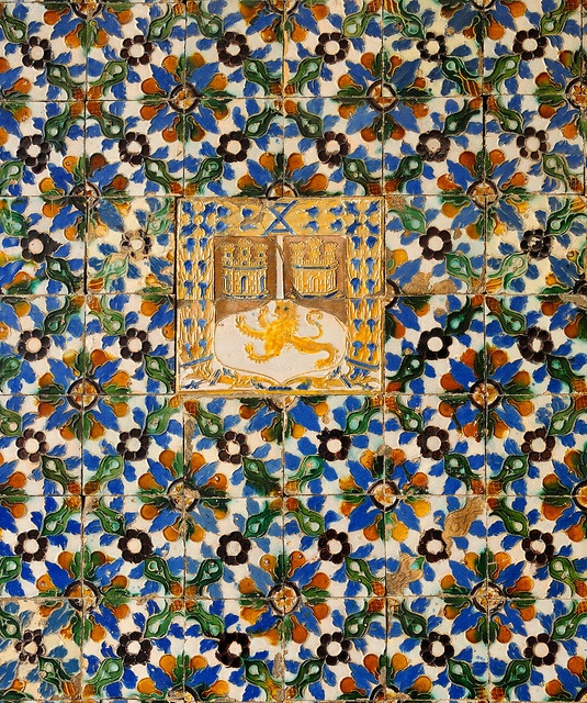 Azulejos - Casa de Pilatos - Sevilla, Spain