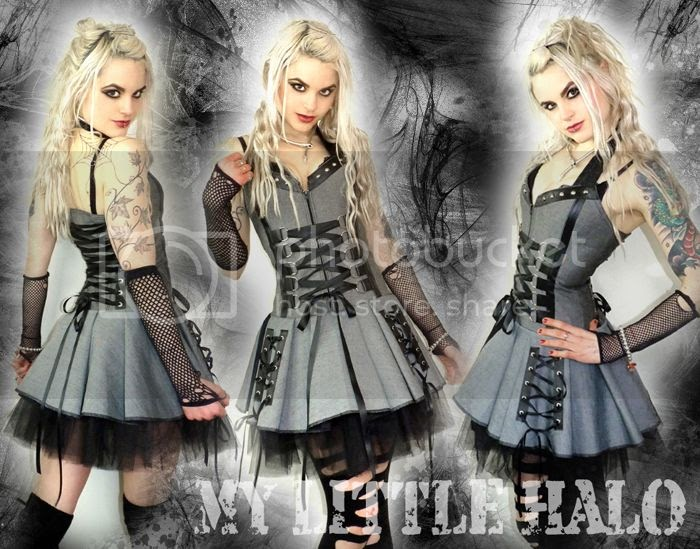 More New Dresses My Little Halo Alternative Clothing Rock Clothing Heavy Metal Fashion