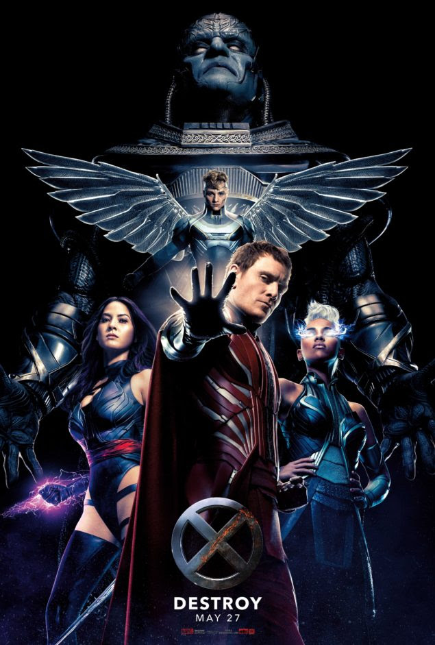Men: Apocalypse is the 9th film to feature mutant characters from ...