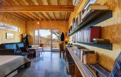 COHOUSING. Las casas poseen vestíbulo, baño, sector de descanso y cocina integrada.
