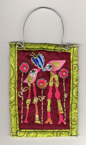 Love Birds Mini quilt