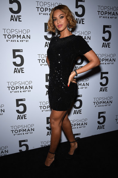 Beyoncé Knowles Beyoncé Knowles attends the Topshop Topman New York City flagship opening dinner at Grand Central Terminal on November 4, 2014 in New York City.