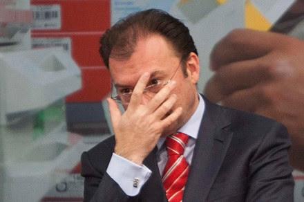 El secretario de Hacienda, Luis Videgaray. Foto: Germán Canseco