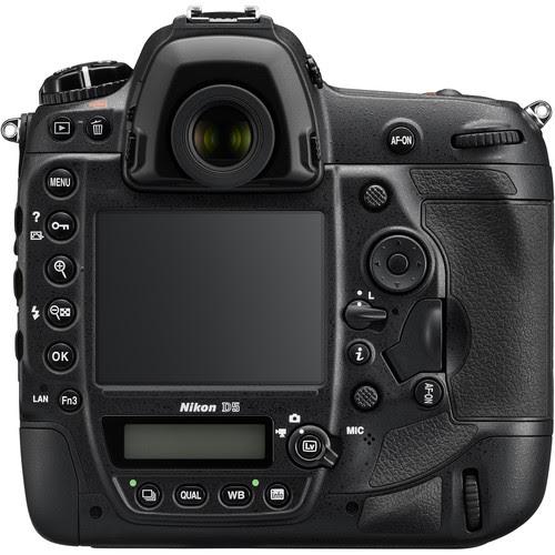 Nikon D5 Rear View