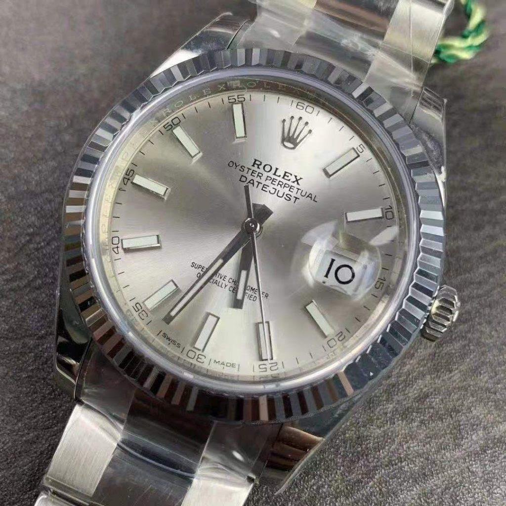 Replica Rolex Datejust II Silver Dial