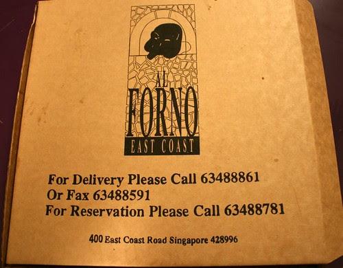 Al Forno Delivery