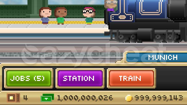 Pocket Trains Unlimited Bux Coins