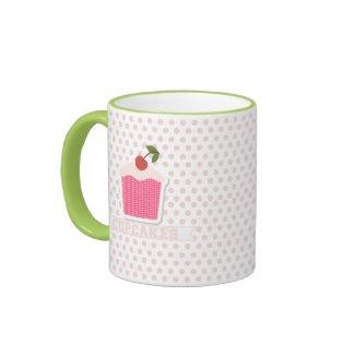 Cupcakes & Polka Dots Mug