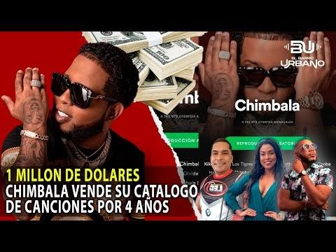 1 Millon de Dolares: Chimbala Vende Catalogo de sus Canciones por 4 Años (El Barrio Urbano)