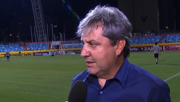 Gilson Kleina - técnico do Goiás (Foto: Reprodução / PFC)