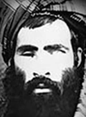 Mulá Omar, líder do Talibã, em foto sem data do centro nacional de contraterrorismo dos EUA (Foto: REUTERS/National Counterterrorism Center/Handout via Reuters)