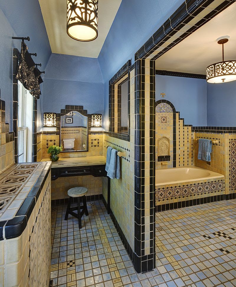 Trendy Twist to a Timeless Color Scheme: Bathrooms in Blue ...