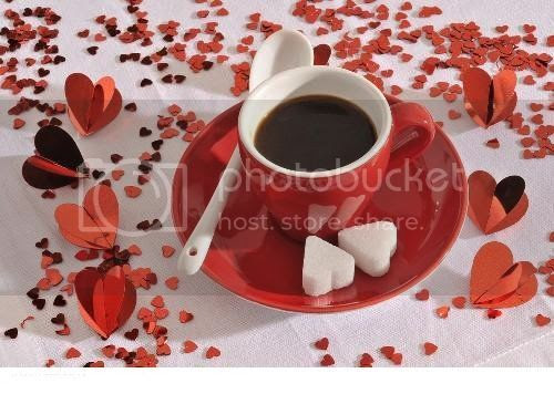 Coffee-Hearts Pictures, Images and Photos