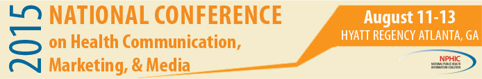 2015 National Conference on Health Communication, Marketing, and Media