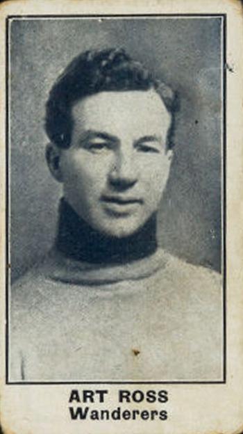 Art Ross Wanderers photo Ross 1912-13 Wanderers card.png