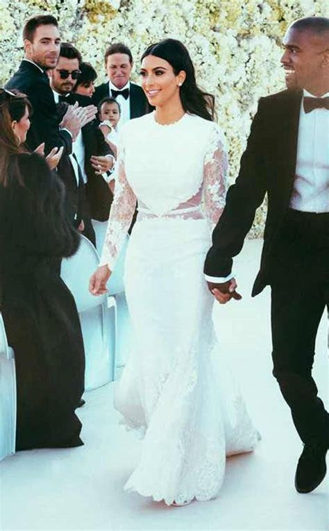 Kim Kardashian from Stars' Most Unforgettable Wedding