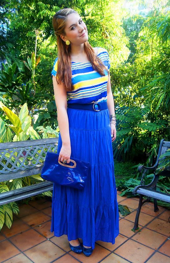 Blue & Yellow by The Joy of Fashion (2)