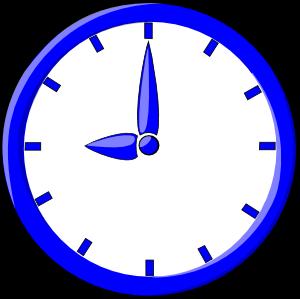 9 O Clock Clip Art