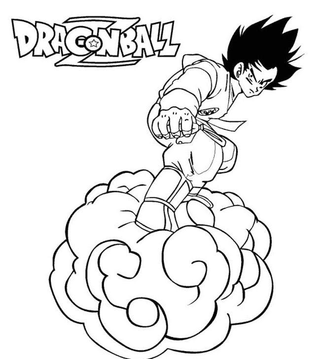 112 Dessins De Coloriage Dragon Ball Z à Imprimer Sur Laguerchecom